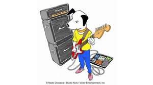 <ビクターロック祭り~音楽の嵐~>浦沢直樹が描いたニッパー君が公開