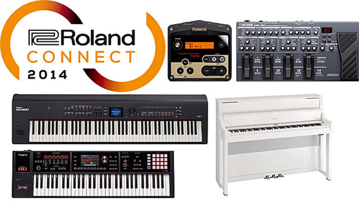 ローランド/ボス、NAMM Show 2014出展新製品を発表、ピアノ、シンセ、ドラム関連製品、ギター・エフェクトなど幅広いラインナップ