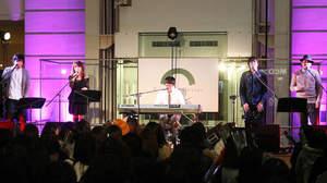 さかいゆう、アルバム発売記念フリーライブに杏子、スキマスイッチ、秦 基博がゲスト出演「僕の大好きな方々です」