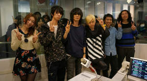 BUMP OF CHICKEN、TFM渋谷スペイン坂スタジオに登場