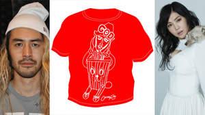 鬼束ちひろ×スピンズGOD、ゴッドなTシャツを発表
