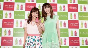 平愛梨とmoumoon YUKA出演の資生堂CM、dビデオにてドラマ化