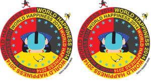 <ワールドハピネス2014>、キービジュアルは横尾忠則がデザイン