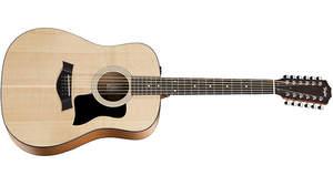 Taylorの100シリーズに12弦モデル「150e 12-Strings」登場