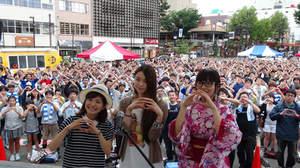 【イベントレポート】片平里菜、地元・福島で凱旋ライブ。「すべて福島で生まれた曲です。」