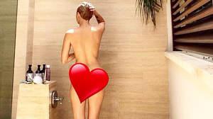 マイリー・サイラス、シャワー姿を公開
