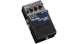 BOSSから太く存在感のあるサウンドと演奏の強弱による表現力を両立するベース用コンパクト・ペダル「Bass Driver BB-1X」