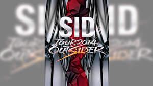 シド、ライブDVD『SID TOUR 2014 OUTSIDER』アートワーク公開