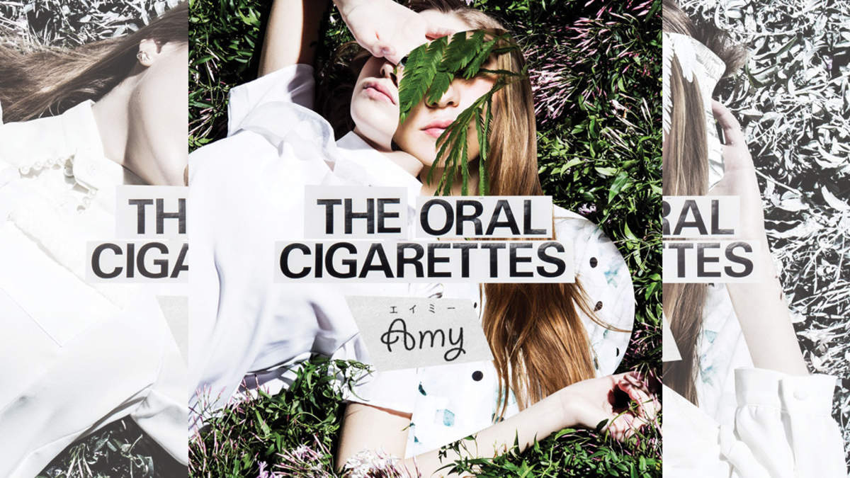 The Oral Cigarettes 新曲 エイミー ジャケットも白が基調 Barks