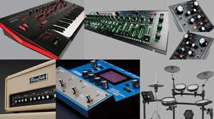 ローランドが<Musikmesse 2015>でセミ・モジュラー・シンセやギターシンセなど多数新製品を発表