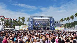 水着で参加できる<MTV ZUSHI FES 15>にAK-69、C&K、MINMI、ナオト・インティライミ