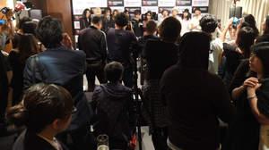 【速報】<JAPAN NIGHT>台北、現地メディアと談笑
