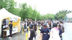 【速報】<JAPAN NIGHT>台北公演、物販コーナーも大盛況