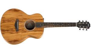 Taylorのミニギター「GS Mini」にオールコアのエレクトリック・モデル「GS Mini-e Koa」