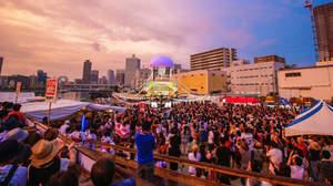 【ライブレポート】BEGIN、やぐらのステージから3000人と盆踊り。夕焼け時の「涙そうそう」に涙も