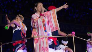【ライブレポート】夏の興奮と熱狂、そして切なさ。浜崎あゆみのステージで2015年の<a-nation>閉幕
