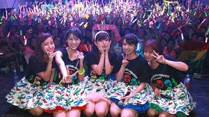 ℃-uteがメキシコ初単独公演。「みんなもteam℃-uteの一員です!」スペイン語で伝える