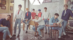 EXO、日本デビューシングル「Love Me Right ~romantic universe~」MV公開