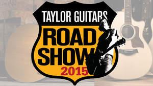 Taylor人気モデル&最新モデルが千葉と兵庫に集結する<Taylor Guitars Road Show 2015>開催