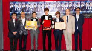 w-inds.、香港でJ-POPアーティスト初の日本総領事表彰を受彰