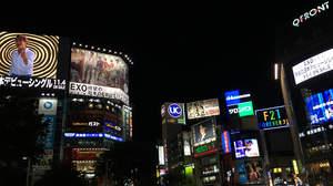 渋谷一帯がEXOだらけ