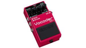 自分の声を使ってギター演奏! BOSSからギター/ベース用ボコーダー「VC-1」