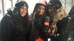 スティーヴン・タイラー、CNNの天気レポートに登場