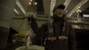 東京湾でサカナクション山口が釣り。NHK BSプレミアム『東京ナイトフィッシング』