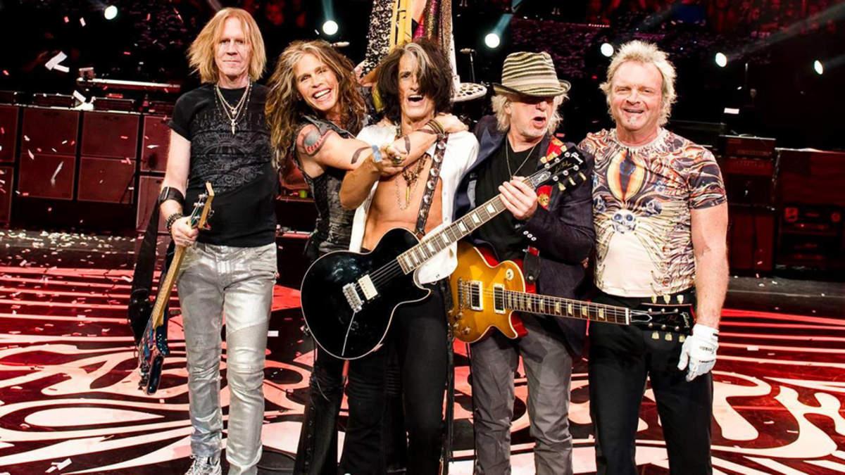 Los dos conciertos de Aerosmith en el Estadio Universitario