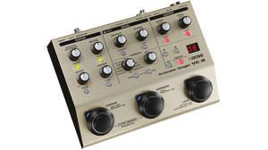 BOSSから「弾き語り」をカンタン操作でプロのサウンドに仕上げる「VE-8」発売