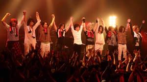 【ライヴレポート】Rayflower、摩天楼オペラを迎えた大阪公演「皆でグチャグチャに」