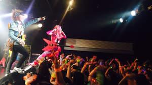 【短期リレー連載】Psycho le CémuのTHE WORLD TOUR DIARY@仙台darwin「仙台ありがとうございました~」(AYA)