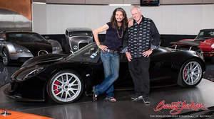 スティーヴン・タイラー、レアなスーパーカーを慈善活動のために競売