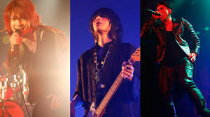 有村竜太朗、SuG、ノクブラ出演イベントに清春登場のサプライズ、「竜ちゃんと武瑠くんに呼ばれて来ました」