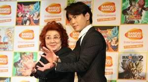 【全日本歌謡情報センター】野沢雅子が「ドラゴンボール」ゲームでギネス記録認定、氷川きよしが祝福