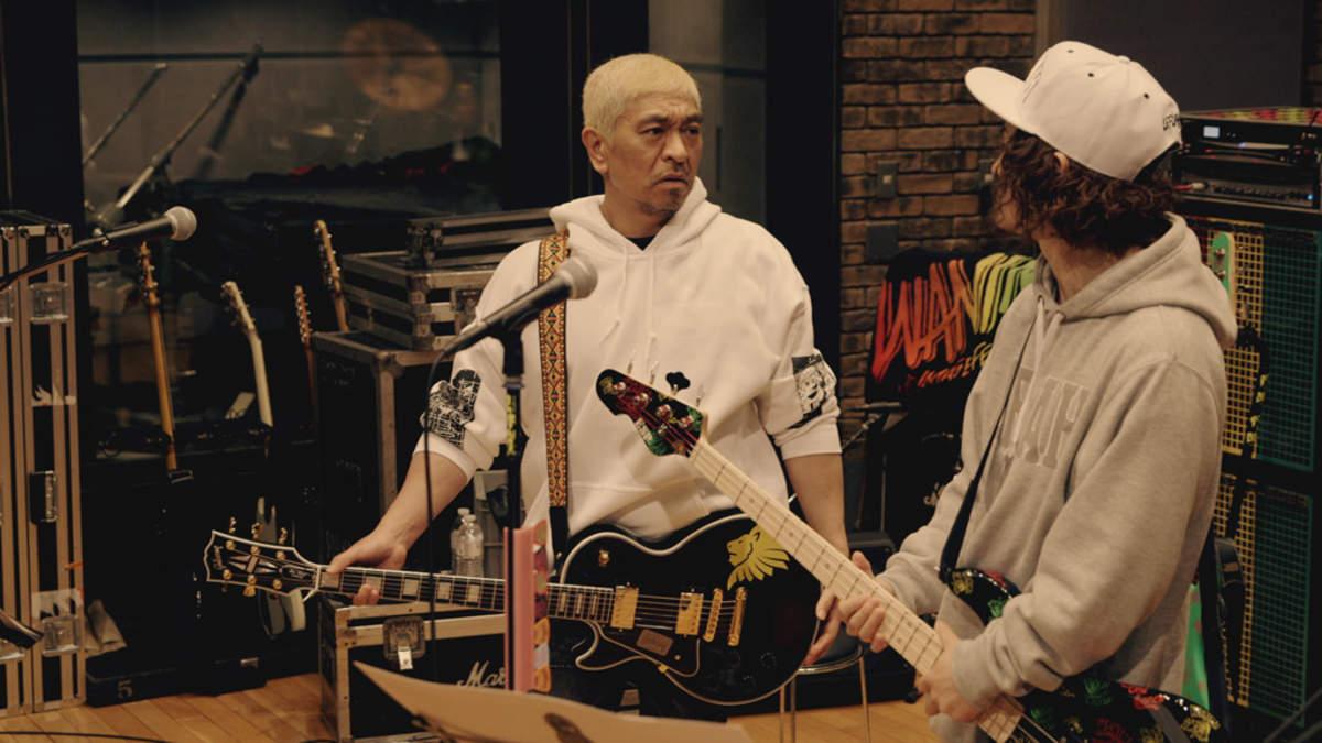 洋ロリ ultra model 4 WANIMA CM初出演。松本人志の『タウンワーク』CMで戸惑いの新曲セッション