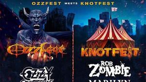 <Ozzfest Meets Knotfest>、ラインナップ発表