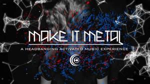 Crossfaith、ヘドバンしないと視聴できない新技術『Make It Metal』とのコラボ決定