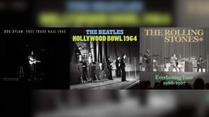 ディラン、ビートルズ、ストーンズ、60年代の名演がフルバージョンでCD化