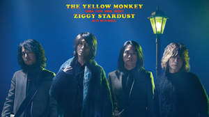 THE YELLOW MONKEY、3ヶ月連続で楽曲配信決定。第一弾は「ZIGGY STARDUST」