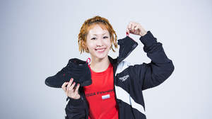 木村カエラ、誕生日の10月24日にReebok CLASSICとのコラボ「Freestyle Hi Kaela」発売