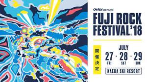 <FUJI ROCK FESTIVAL'18>、チケット詳細発表