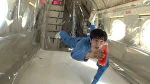井ノ原快彦、無重力の世界を体験