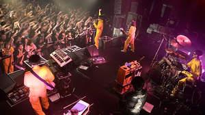 【ライブレポート】POLYSICS、新体制お披露目ツアーで「新しい曲が書きたくなってる」