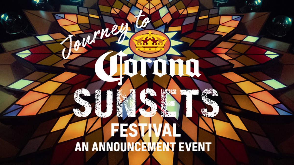 <CORONA SUNSETS FESTIVAL>、完全招待制シークレットプレパーティを開催し注目の出演アーティスト第一弾を来場者限定先行発表