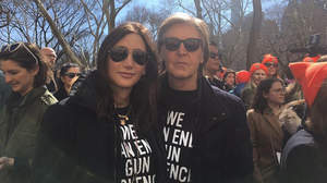 ポール・マッカートニー、銃規制デモでジョン・レノンについて言及