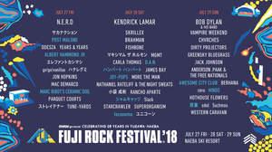 <FUJI ROCK '18>第5弾でポスト・マローン、アルバート・ハモンドJrら。日割りも発表