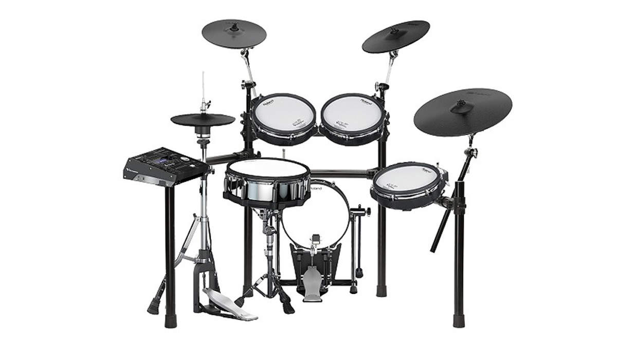 あの名曲のドラムサウンドを再現できる音色も収録、島村楽器×Rolandコラボ電子ドラム第2弾が「2タム1フロア」で登場