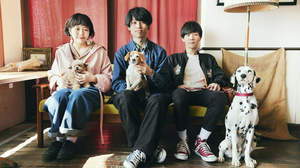 Saucy Dog、キム・ユンス監督による「真昼の月」MV公開