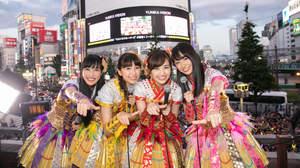 【イベントレポート】ももいろクローバーZ、メンバー登場で新宿騒然の上映会@ユニカビジョン